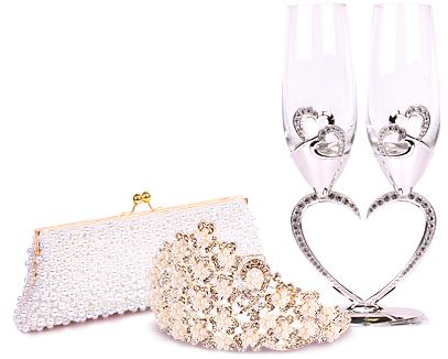 Купить в Москве свадебные аксуссуары