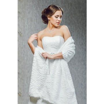 Накидки На Свадебное Платье На Осень Купить