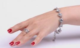 купить золотой браслет в москве дешево