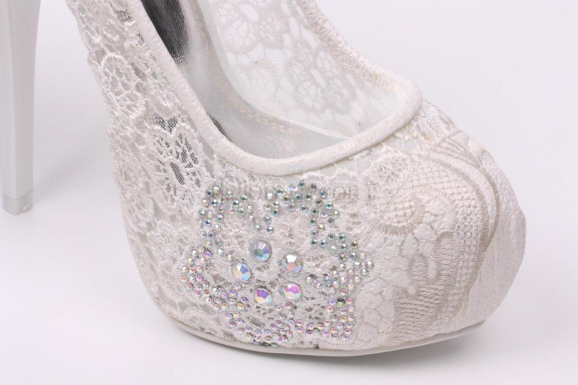 Туфли Под Белое Кружевное Платье | Белые