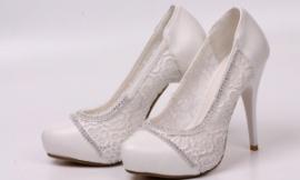 Туфли ажурные