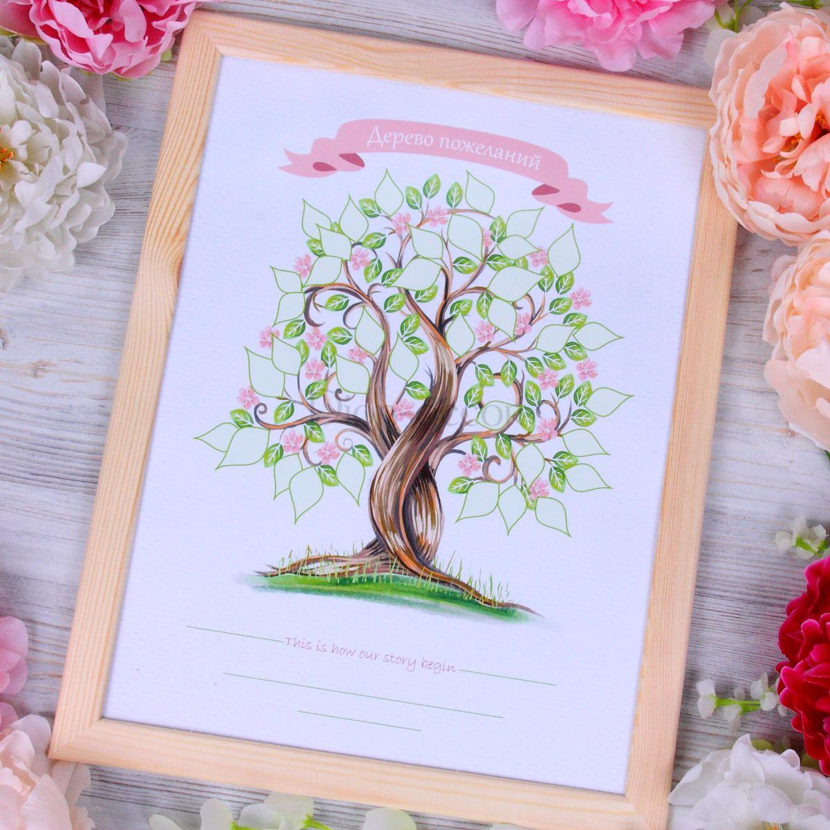 Дерево на свадьбу поздравление 46