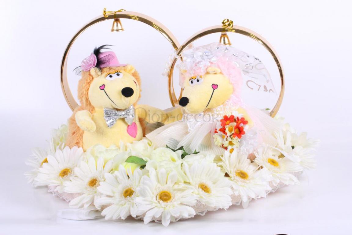 Ежик для свадьбы