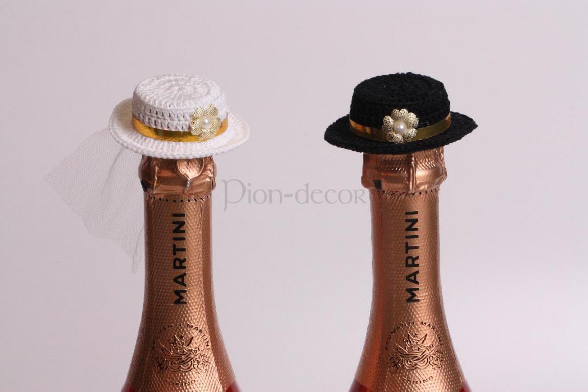 Как сделать шляпку своими руками для шампанского 158