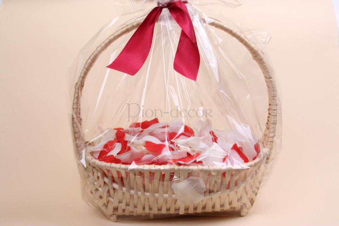 Свадебные корзинки для лепестков роз своими руками 30