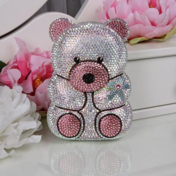 Клатч - «Мишка» - «Teddy Bear» - Swarovski