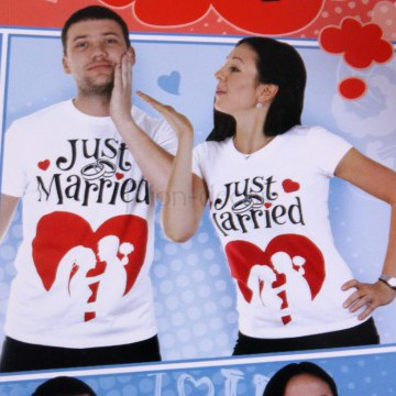 Футболка «Just Married»
