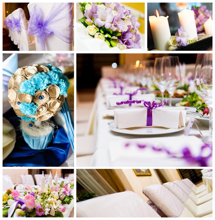 Декорации для свадьбы своими руками