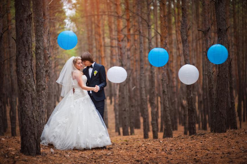 Хорошая идея для свадебной фотосессии