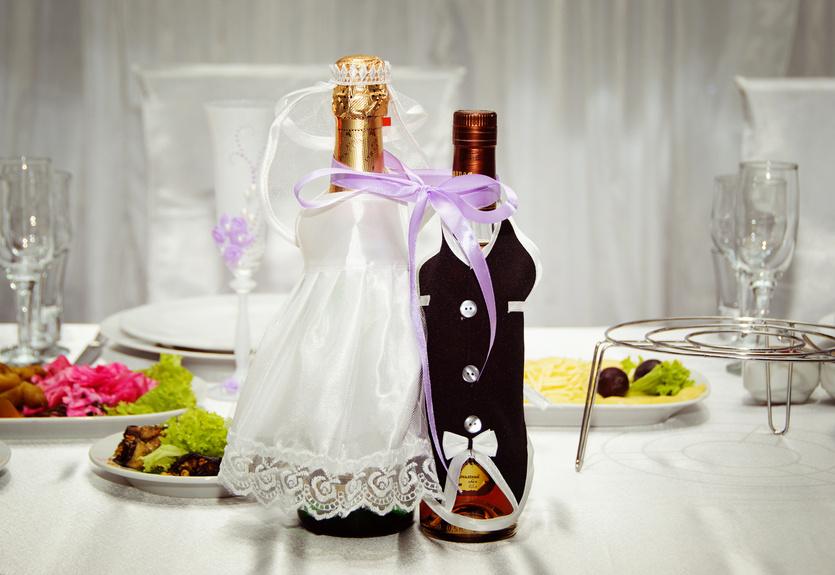 Украшение свадьбы лентами своими руками