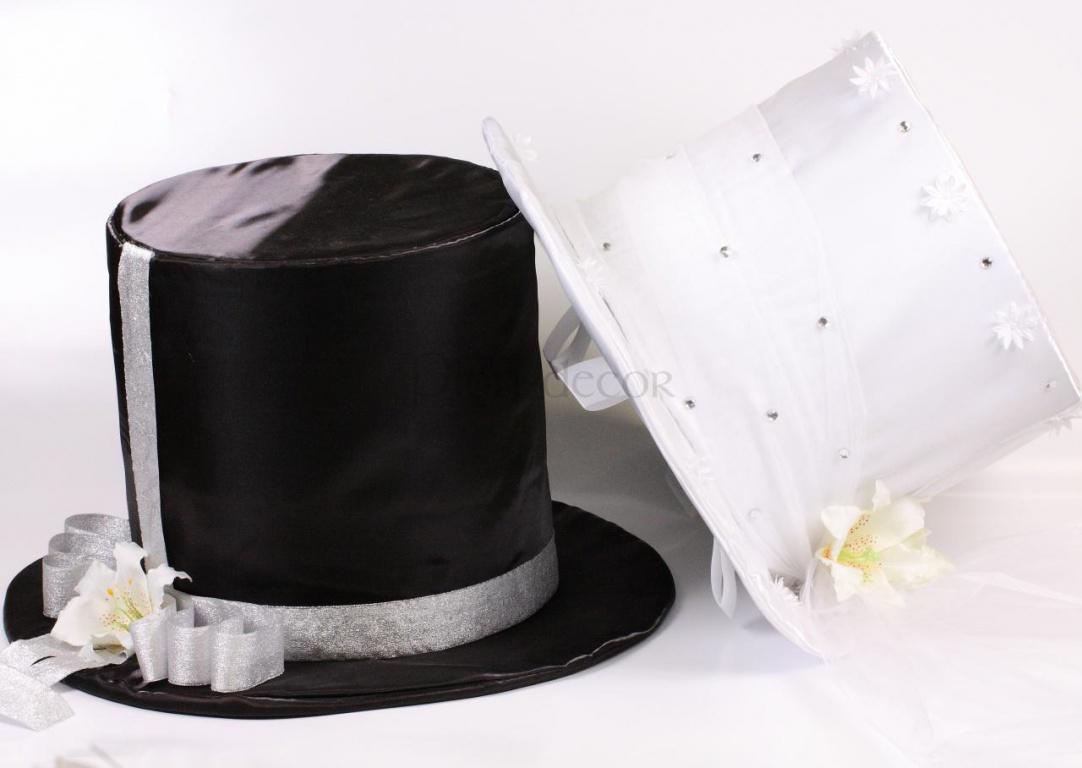 Цилиндры - украшение свадебного кортежа
