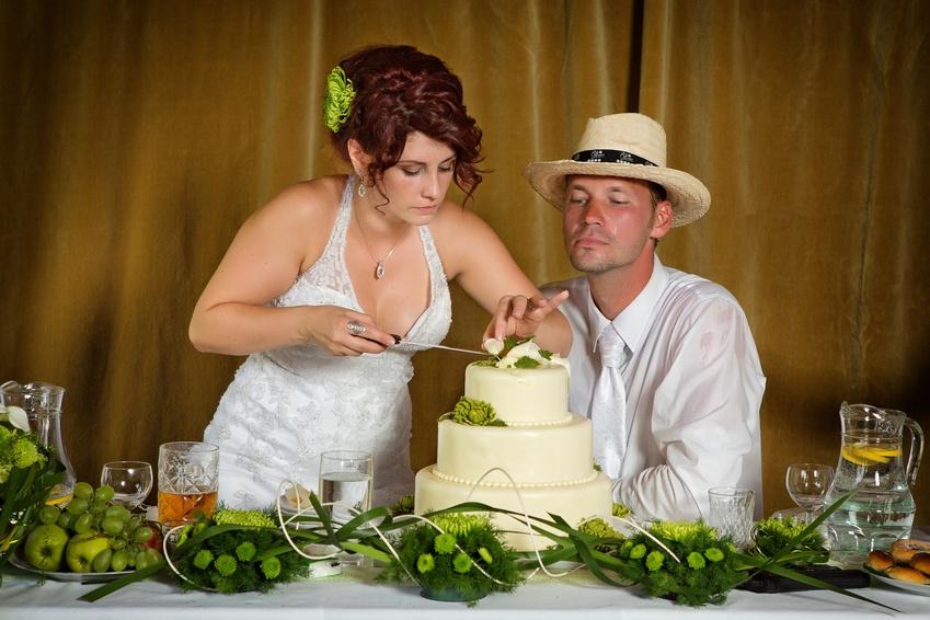 Украшение свадебные сердца