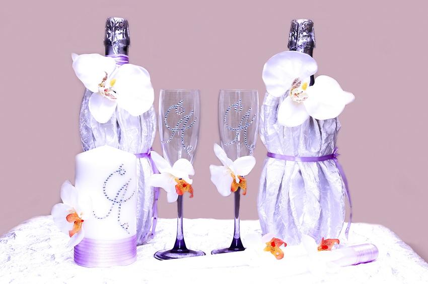 Бокалы шампанского картинка