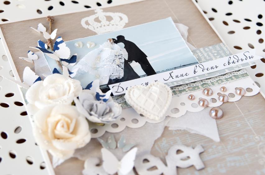 Красивый свадебный альбом