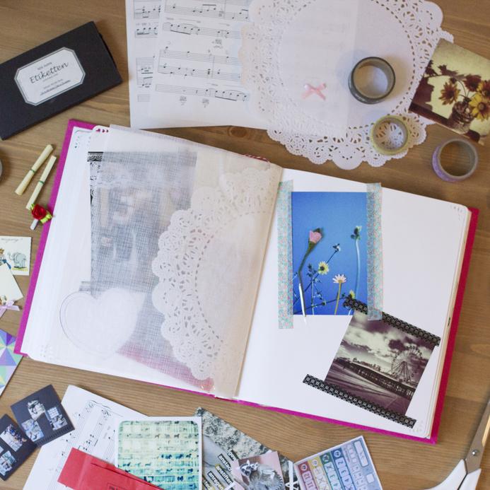 Оформление свадебного альбома - скрапбукинг