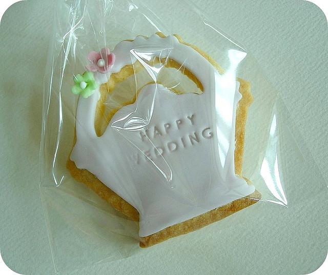 Украшенные свадебные корзинки-сувениры