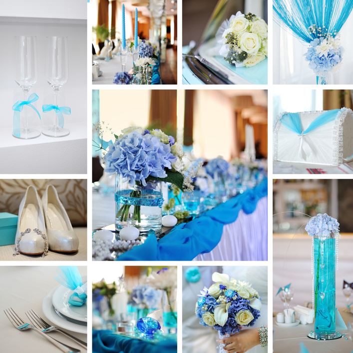 Свадебные украшения напрокат