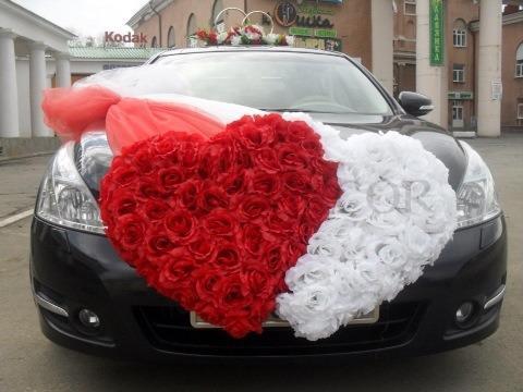 Украшения на машину на свадьбу напрокат иваново