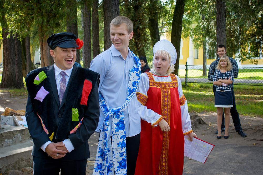 Сценарий для выкупа невесты в русском стиле