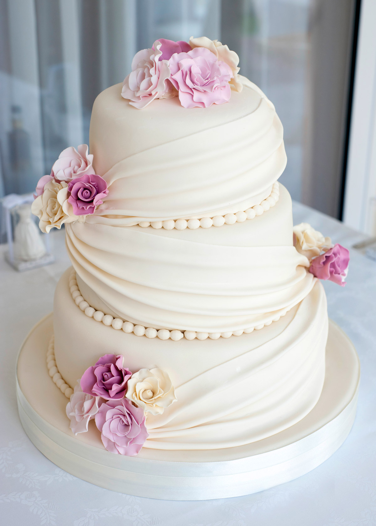 Фото оформление свадебного торта