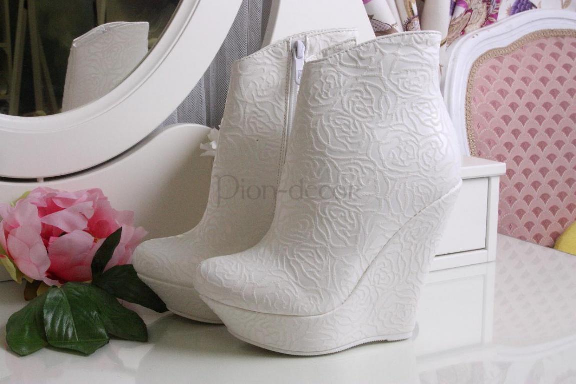 cb6d250e3 Свадебная обувь на осень и зиму - Pion-decor