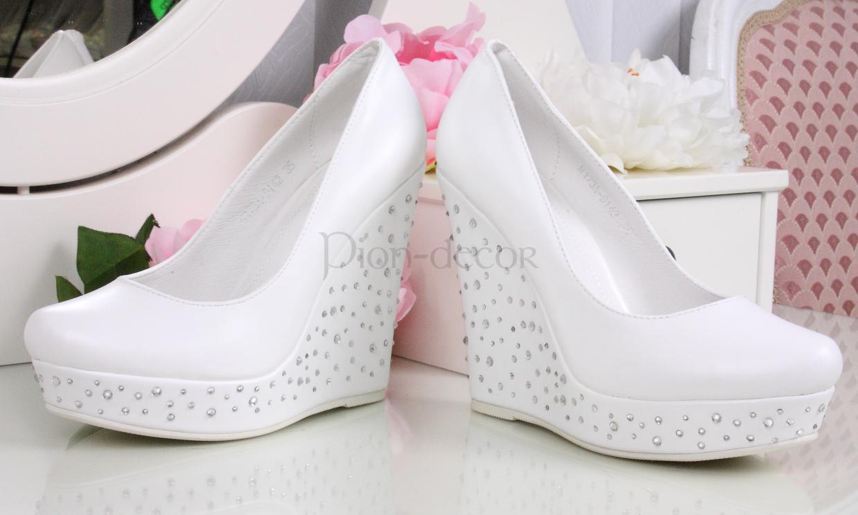 Свадебные туфли 2016 года