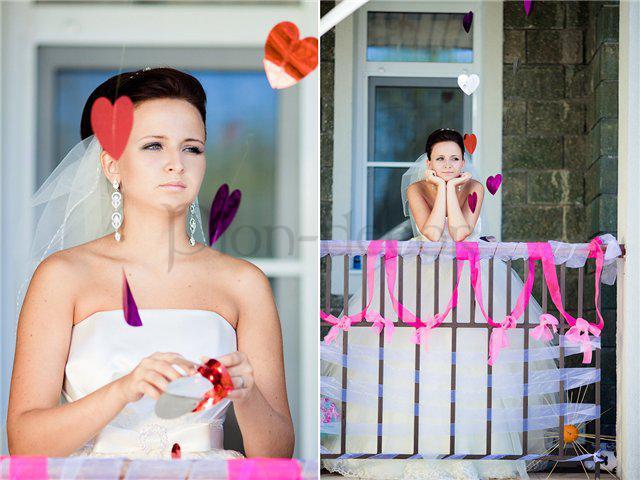Украшения дома невесты