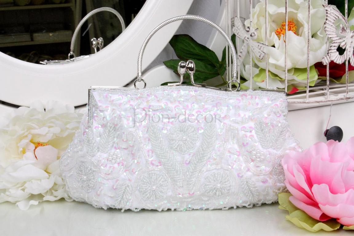 Оригинальная свадебная сумочка для невесты
