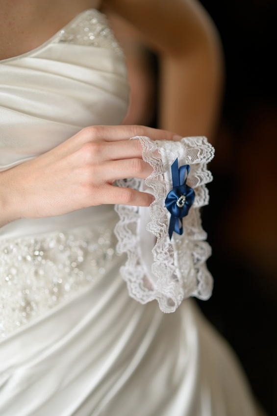 Подвязка для невесты своими руками