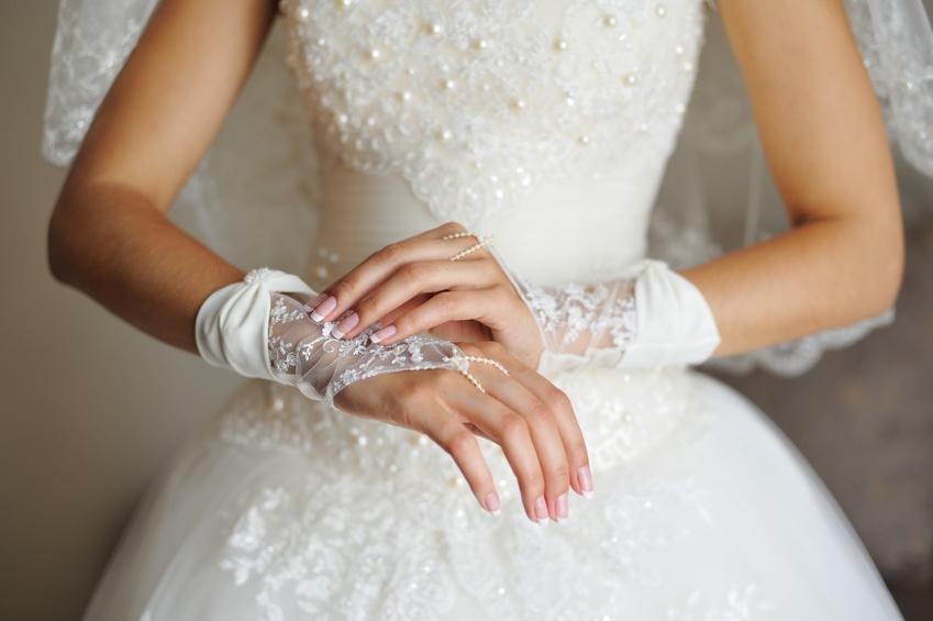 Свадебный маникюр фото 2017 года