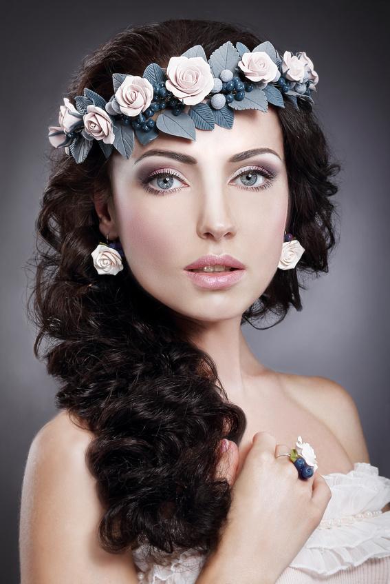 Как сделать свадебные украшение для волос