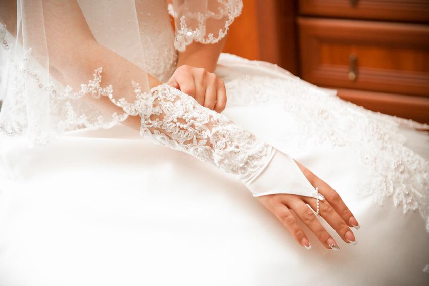 Свадебные митенки