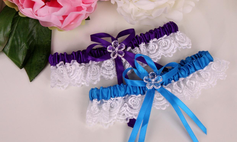 Свадебные аксессуары своими руками - подвязка для невесты