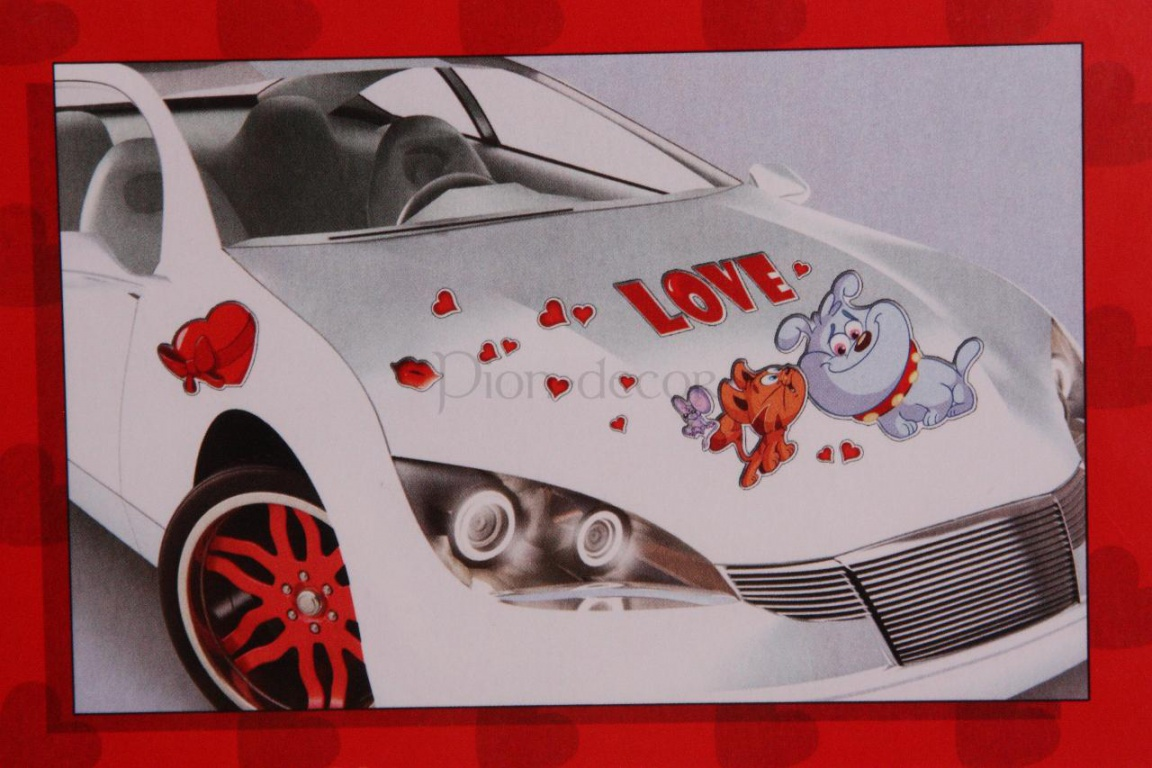 Украшения на свадебный автомобиль