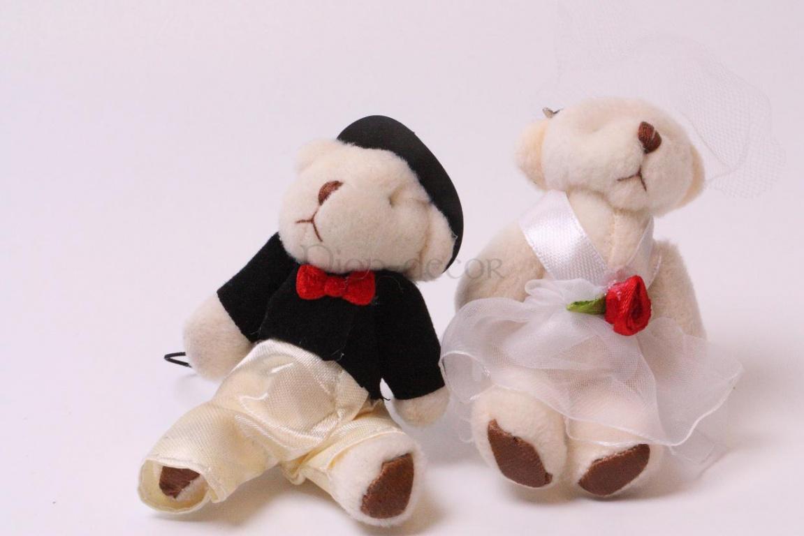 Свадебные бонбоньерки - жених и невеста
