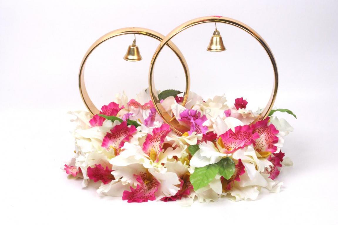 Орхидеи и колокольчики - Украшения на свадебный автомобиль