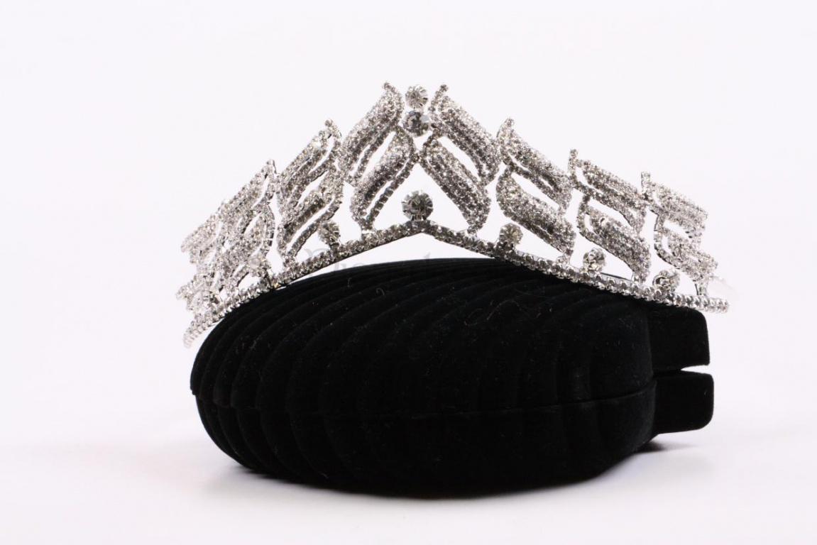 Сияющая корона - украшение на свадьбу для прически невесты
