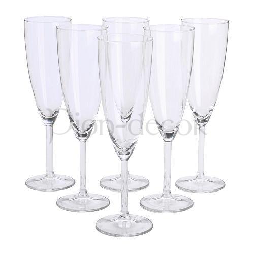 Простые свадебные бокалы